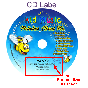 Melodies About Me Personalized Kids Music CD